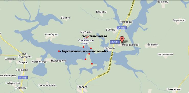 рузское водохранилище места ловли
